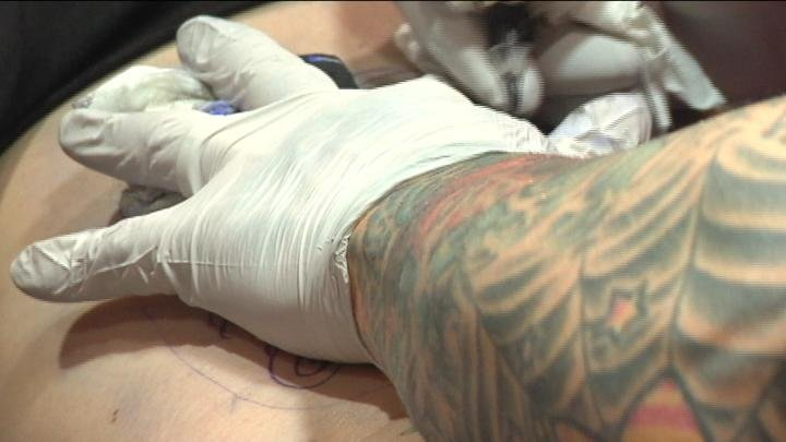 The 5th Annual Tattoo Convention was held at the Three Rivers Convention Center.