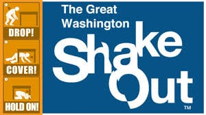 The Great Washington Shake Out is happening where more than a million people in the state will brush up on their earthquake preparedness skills