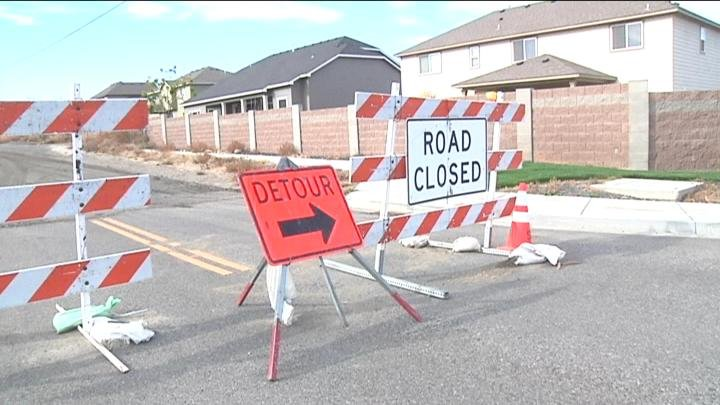 Police want drivers to obey detour signs while construction is underway.