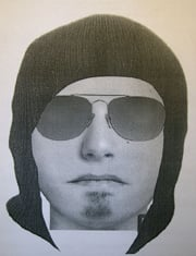 Composite of Robbery Suspect