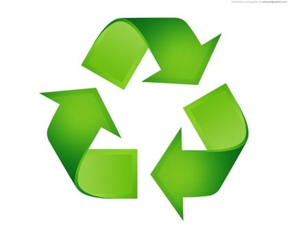 Research shows that 75% of America's trash can be recycled, but only 25% actually is.