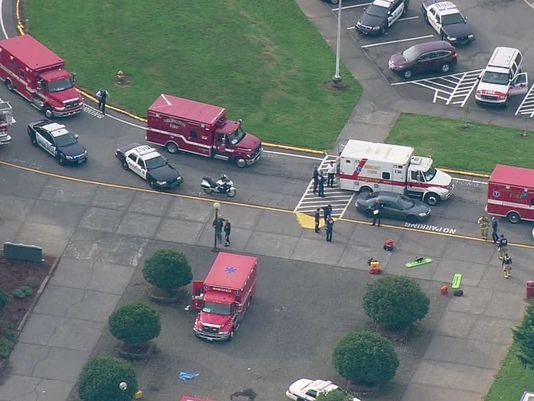 Two dead, four injured in shooting at high school in Marysville