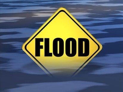 Wednesday the county said they experienced its first flood of the season, and the largest flood since May 2011. Thankfully there was only minimal damage to private structures.