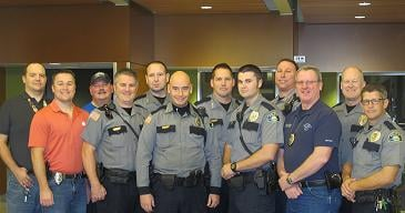 "The Walla Walla Police Department Participating in ""No Shave November"""