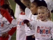 Young Cheer Team at Toppenish and East Valley Game