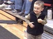 Fan Having Fun at Wa-Hi and Kennewick Boys Game