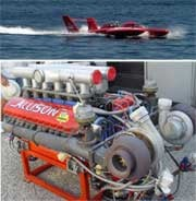 U3 & Allison V-12 piston engine