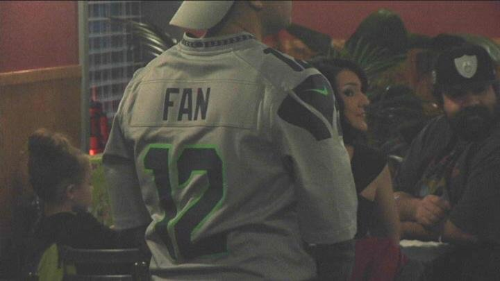 Fans showed their support Saturday night against the Carolina Panthers.