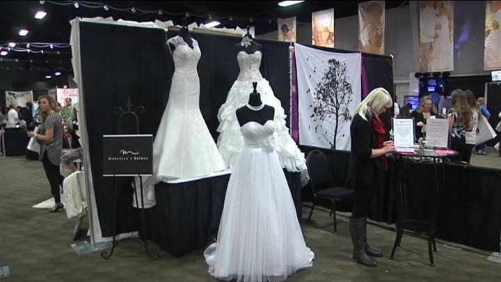 Close to 80 vendors were there to give brides new ideas for their weddings.