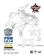bullriding coloring pages - photo#21