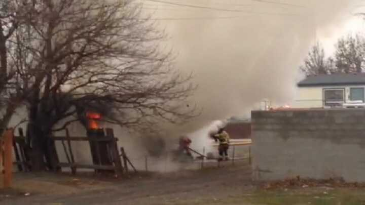 Investigators said the house is so charred they have not been able to determine what actually happened and where the fire started.