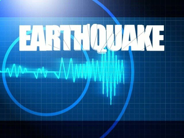 Earthquake reported in Mission Oregon.
