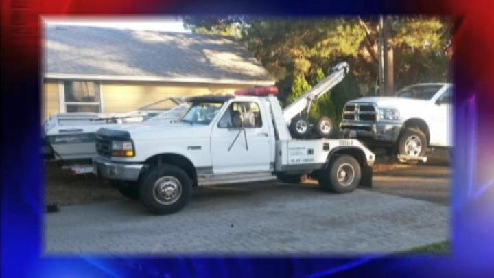 Property stolen from a local company could mean more stolen cars. A local towing company says one of their new trucks was stolen sometime between Saturday night and Monday morning.