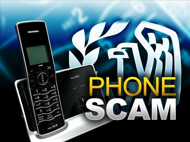 The IRS said they never call customers and demand money over the phone.
