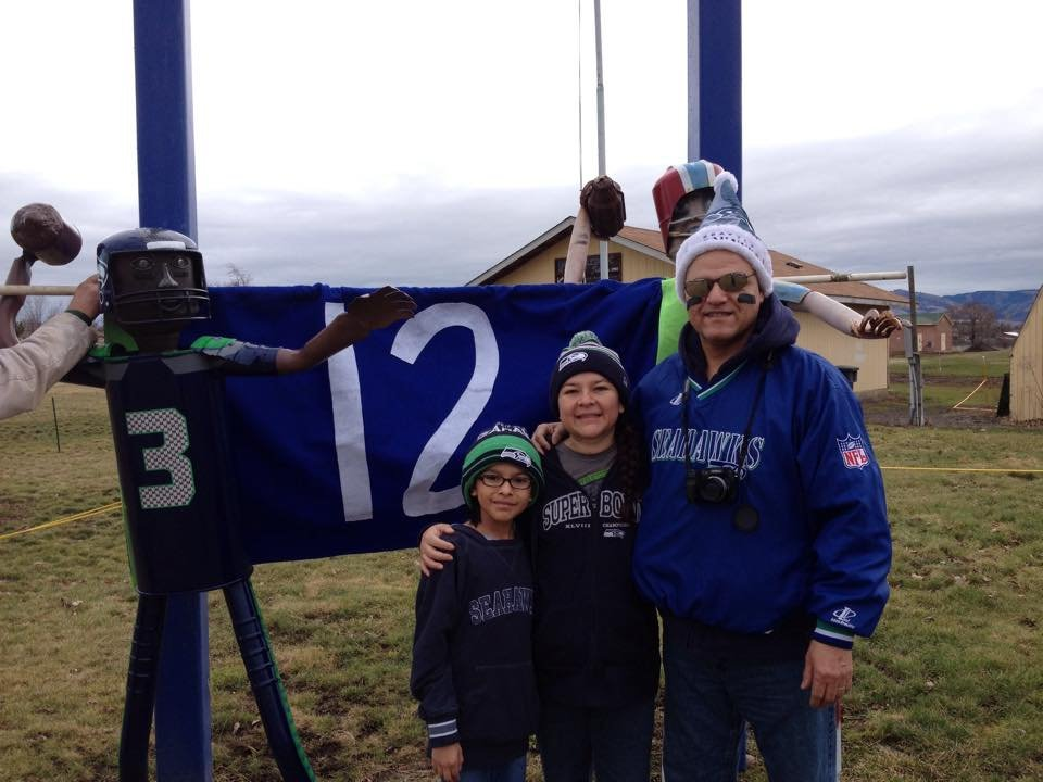 It's game day and what better way to spend it than with family and friends. Here are some your pictures from Super Bowl 49.