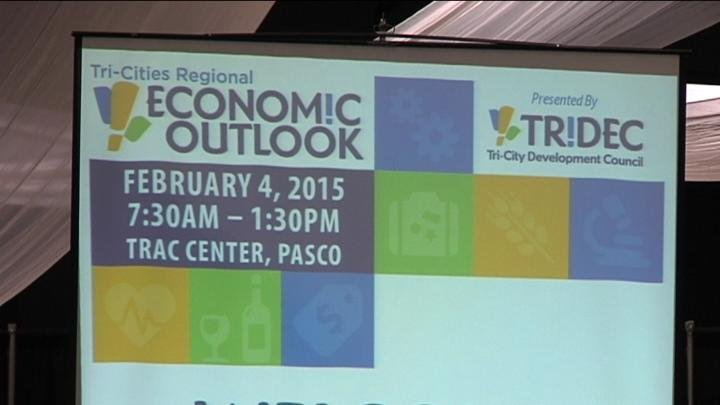 The economy is improving, at least in the Tri- Cities.Community and business leaders came together Wednesday to talk about the area's economic outlook.
