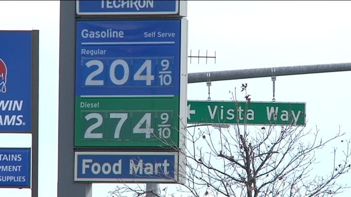 Just back in October, consumers were happy to see prices below $3.00 around Kennewick.