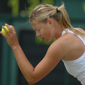 Joe Klamar/AFP/Getty Images - Facing 19 break point chances on her serve, Maria Sharapova was broken four times by Venus Williams.