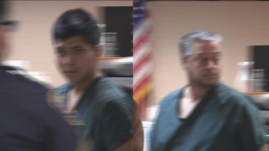 Two men are in custody for two different murders that happened only days apart and on Thursday, they both appeared before a judge.
