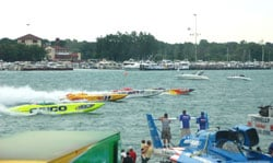 Offshore Pro Series did hit the water