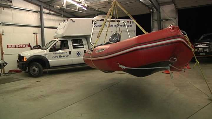 The boat will be dropped via helicopter from 186 feet in the air.