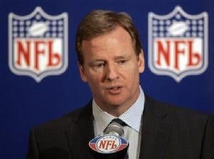 AP - NFL commissioner Roger Goodell deserves credit for tackling the developing issues around the league.