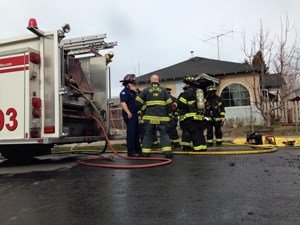 Grandmother & Young Boy Escape House Fire in Yakima