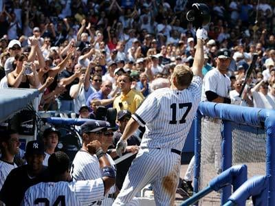 Getty Images - Things have been great for Shelley Duncan and the Duncan family since he was called up to the Yankees.