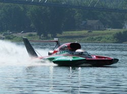 The U-6 Oh Boy! Oberto running at Madison, 2007