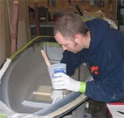 Kip working on the U-17