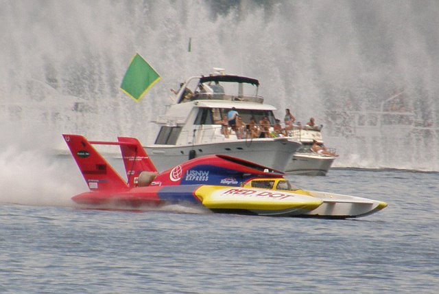 On the water at Seafair - Photo - Russ McElroy