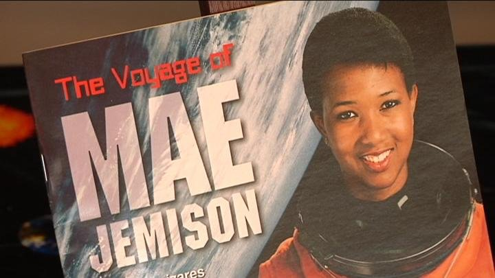 Listeners learned about the accomplishments of Mae Jemison.