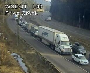 Snoqualmie Pass Closed Westbound After Semi Rollover