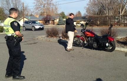 Elderly Woman Hit by Motorcycle in Richland Friday Morning