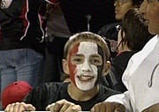 Fan at Toppenish and Othello Game