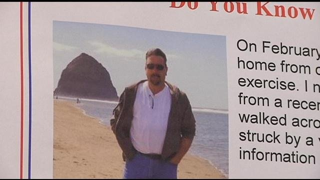 The family of the man who was hit and killed by a car three weeks ago is asking for help.