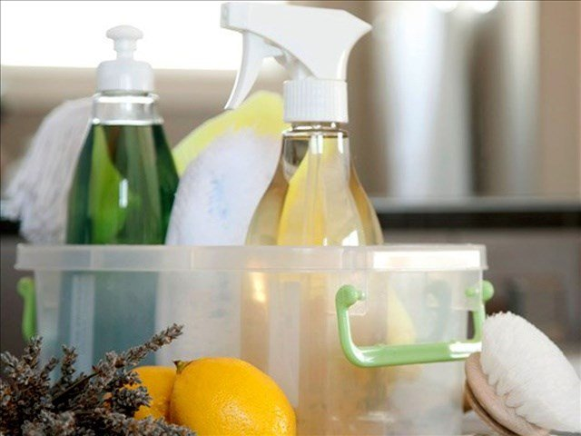 Officials warn people about health dangers when cleaning.