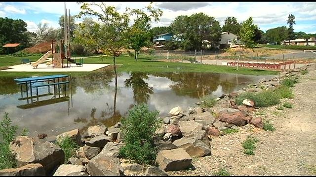 Zintel Canyon Park Flooded Due To Canal Blockage Amp Recent