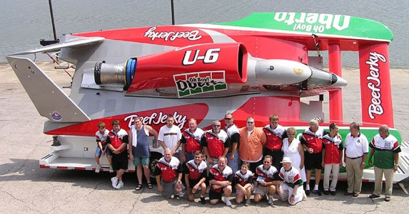 U-6 Oh Boy! Oberto/Miss Madison crew