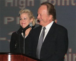 HydroInsider.com Archive Photo: Jane and Billy Schumacher at the 2007 ABRA Awards Ceremony