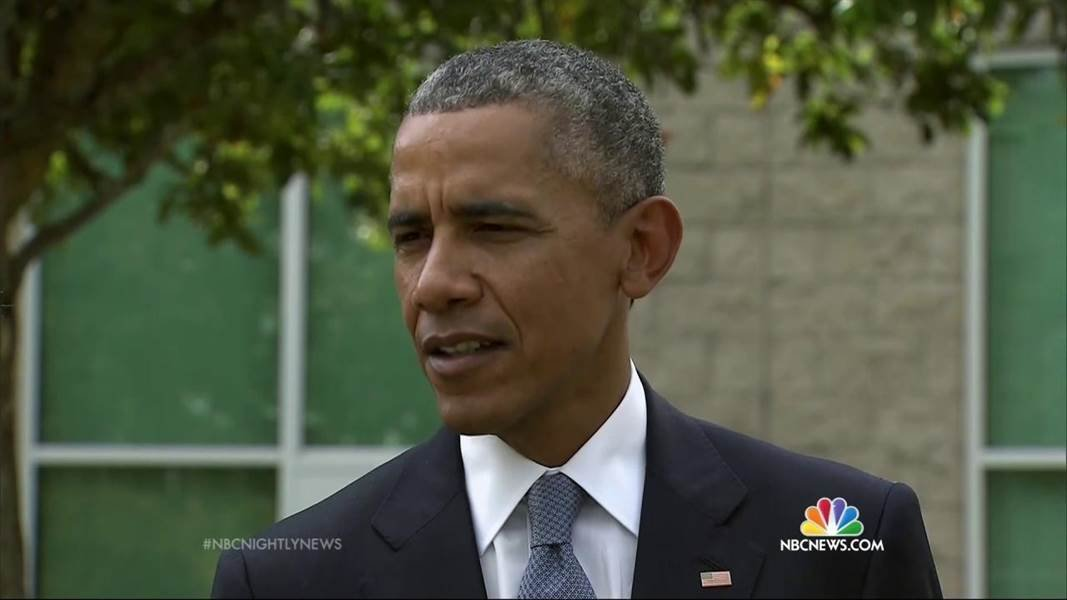"""President Barack Obama says the American people will eventually have to """"come together"""" to figure out how to prevent deadly mass shootings like one that took place in Oregon last week."""