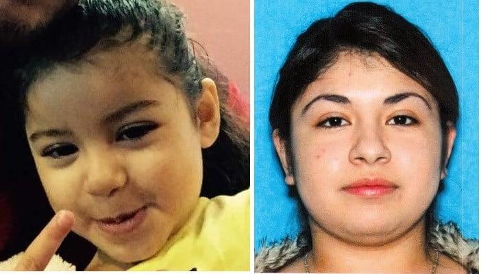 Vivianna Cruz was last seen wearing black sweater and black pants. and her 3-year-olddaughterLupita Tellez
