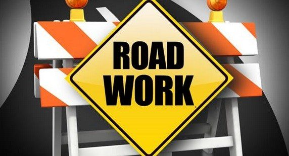 Utility crews are installing sewer, storm sewer and water lines between the intersections.