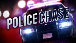 Two men arrested after high speed chase