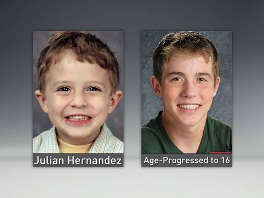 Missing boy found 13 years later