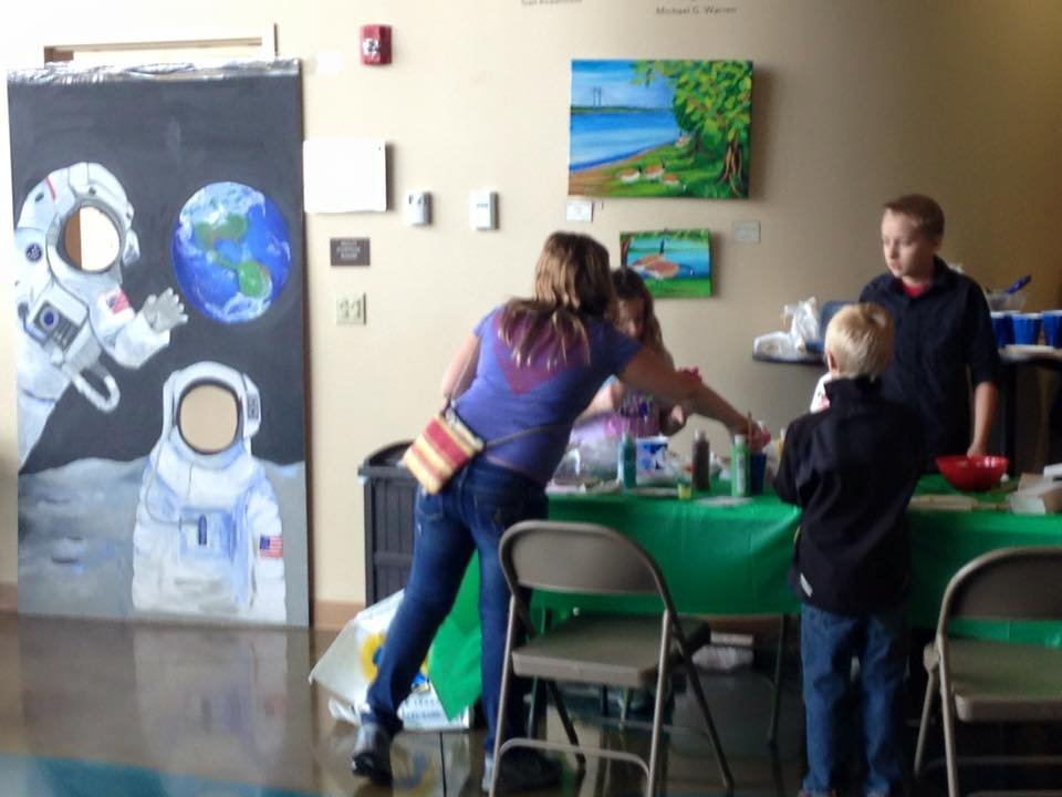 Kids got to participate in various activities that helped them explore the Earth.