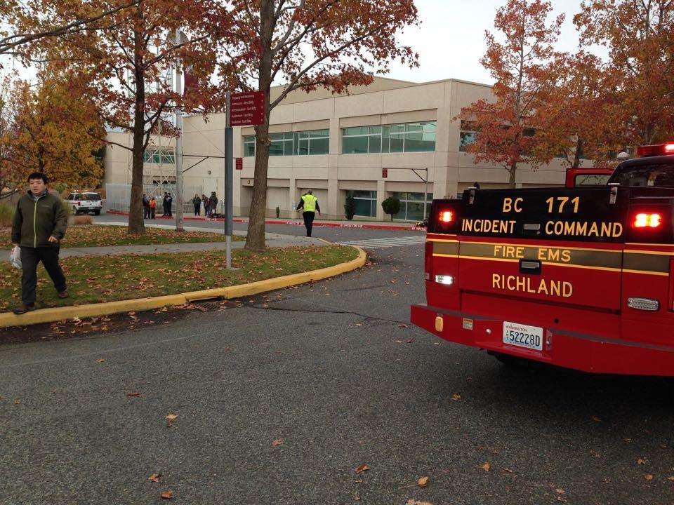 WSU Tri-Cities explosion causes evacuations.