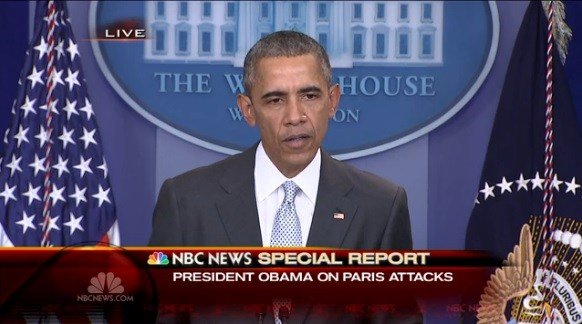 Obama: Paris Attacks 'An Attack on Humanity