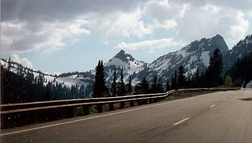 East side of Chinook Pass and Yakama Peak