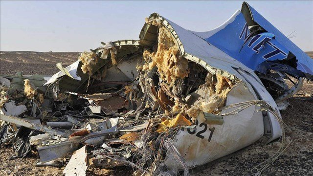Metrojet Flight 9268